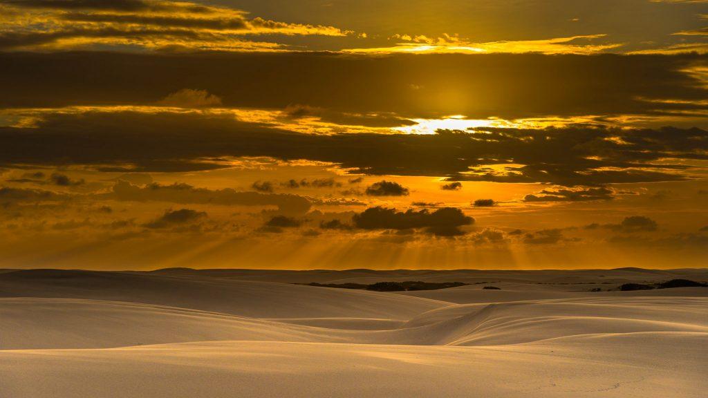 sunset-lencois-maranhenses
